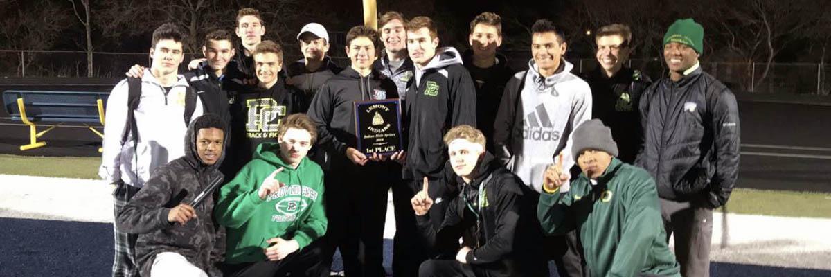 Boys' Track Team Wins Lemont Invitaitonal