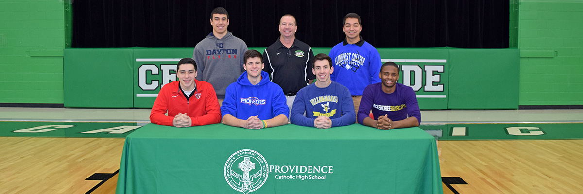 Six Celtics Make College Commitments for Football