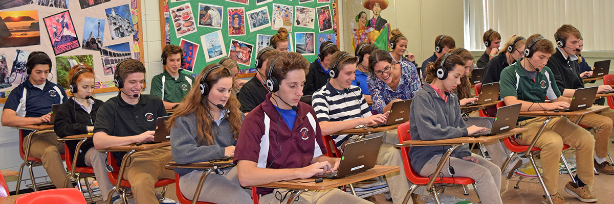 Providence Catholic Implements Four Mobile Language Labs