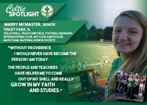 Celtic Spotlight Maddy McMaster