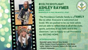 Celtic Spotlight - Ashley Raymer