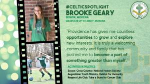 Celtic Spotlight - Brooke Geary