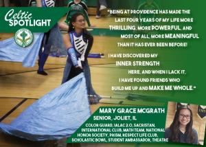 Celtic Spotlight Mary Grace McGrath
