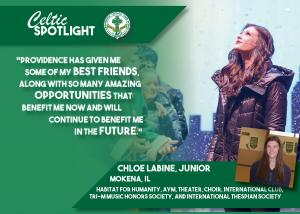 Celtic Spotlight Chloe LaBine