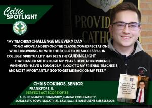 Celtic Spotlight Chris Cokinos