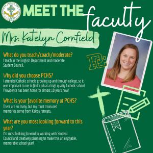 Meet the Faculty - Cornfield