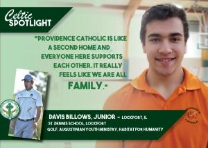 Celtic Spotlight Davis Billows
