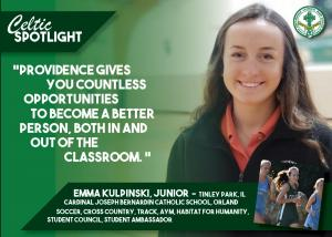 Celtic Spotlight Emma Kulpinski