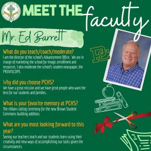 Meet the Faculty - Barrett