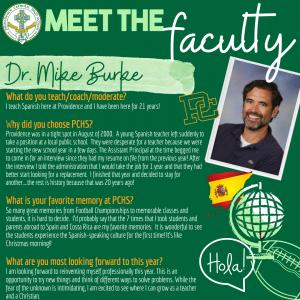 Meet the Faculty - Burke