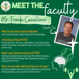 Meet the Faculty - Cav