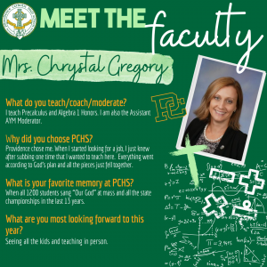 Meet the Faculty - Gregory