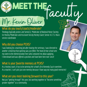 Meet the Faculty - Oliver