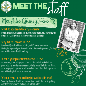 Meet the Staff- Rios