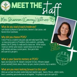 Meet the Staff- Withers