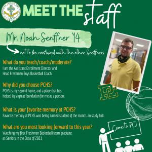 Meet the Staff - Senffner