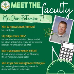 Meet the faculty - Potempa Dan