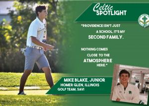 Celtic Spotlight Michael Blake