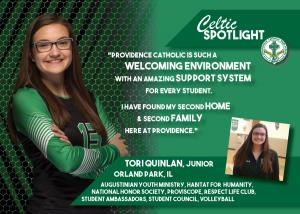 Celtic Spotlight Tori Quinlan