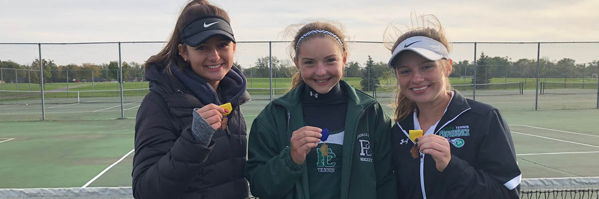Girls Varsity Tennis - Good Luck at State!